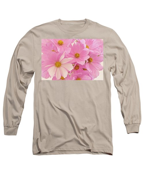 Pink Cosmos Sonata  Long Sleeve T-Shirt