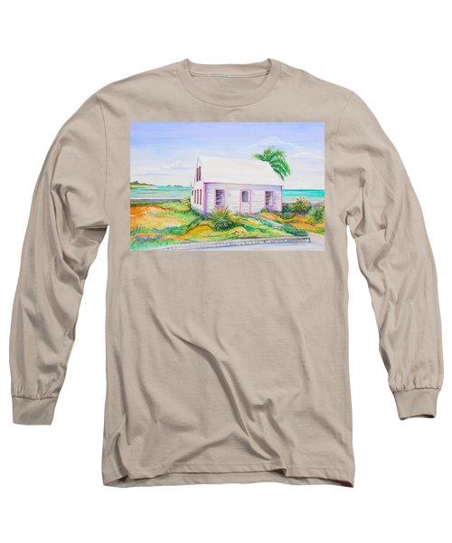 Pink Cottage Long Sleeve T-Shirt