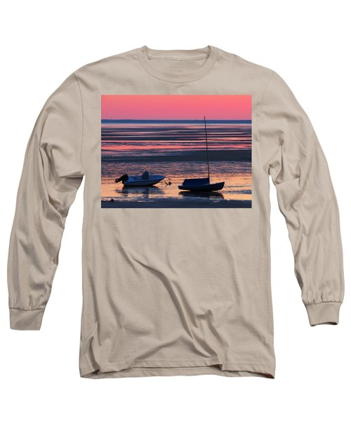 Long Sleeve T-Shirt featuring the photograph Pink Dawn by Dianne Cowen