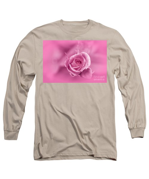Pink Dream Long Sleeve T-Shirt by Charuhas Images