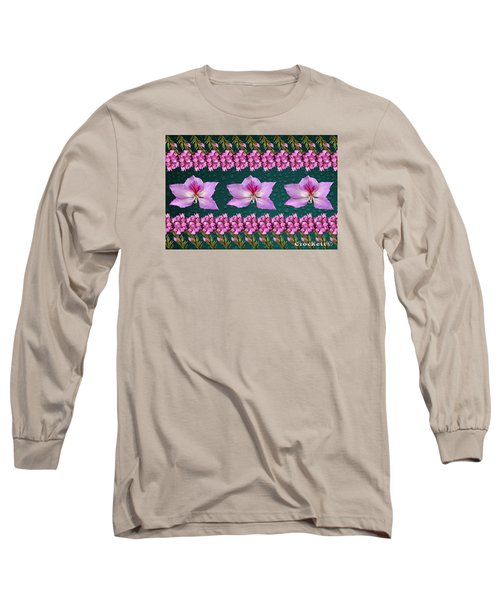 Pink Flower Arrangement Long Sleeve T-Shirt