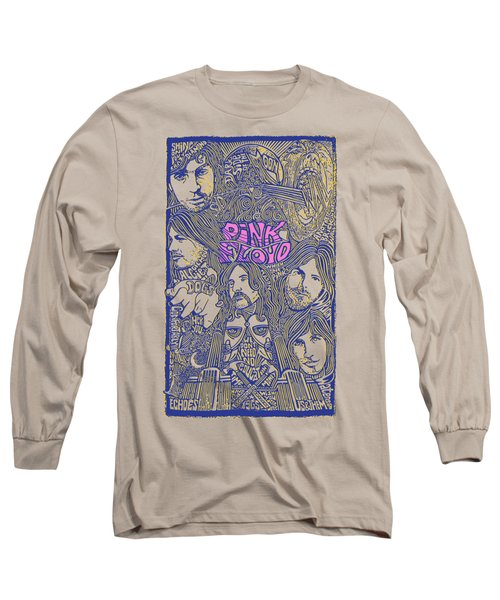 Pink Floyd Poster Art Long Sleeve T-Shirt