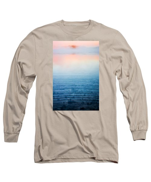Pink Fog At Sunrise Long Sleeve T-Shirt by Shelby  Young