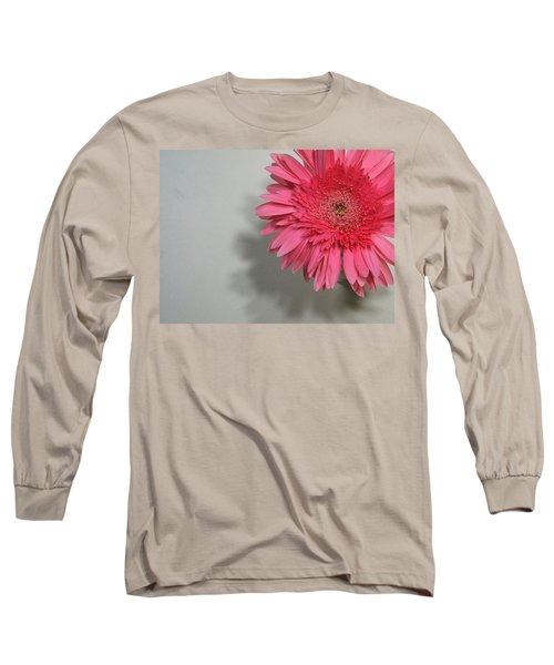 Pink Gerbera Long Sleeve T-Shirt