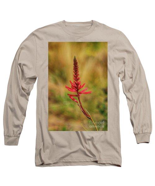 Long Sleeve T-Shirt featuring the photograph Pink Glory by Deborah Benoit