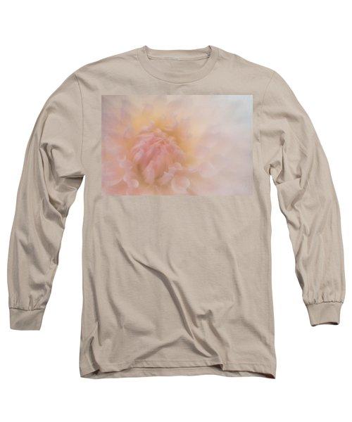 Pink Heart Long Sleeve T-Shirt