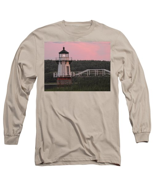 Pink In The Morning Long Sleeve T-Shirt