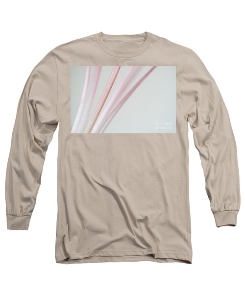 Pink Minimallism Long Sleeve T-Shirt