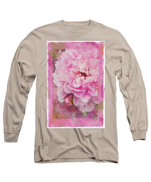Pink Peony 2 Long Sleeve T-Shirt