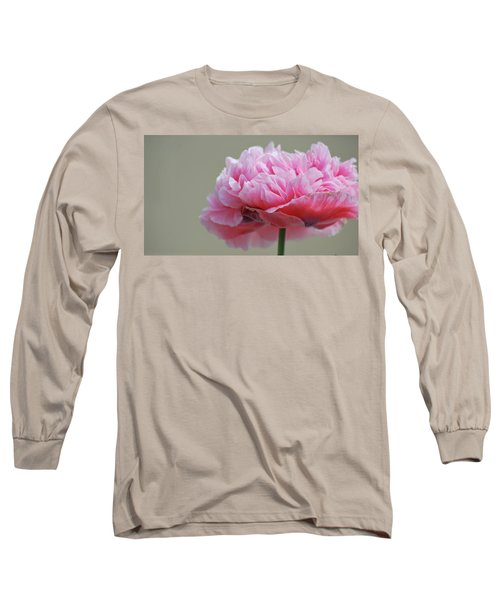 Pink Poppy Long Sleeve T-Shirt