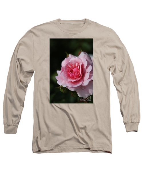 Pink Shades Of Rose Long Sleeve T-Shirt