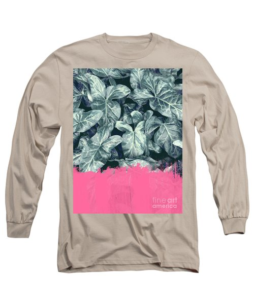 Pink Sorbet On Jungle Long Sleeve T-Shirt