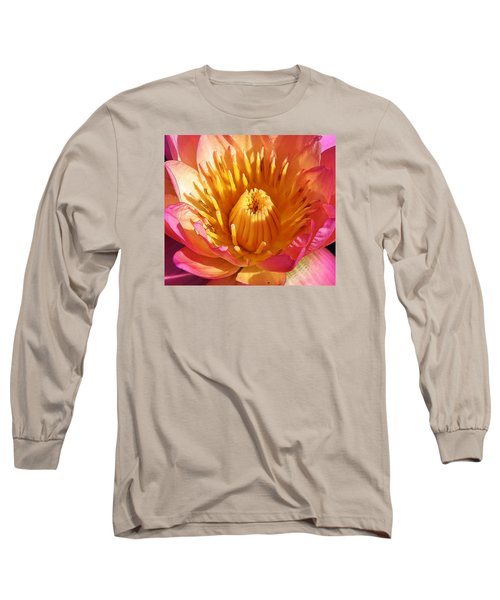 Pink Suprise Long Sleeve T-Shirt by Bruce Bley