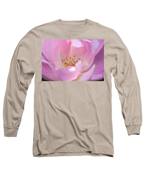 Pink Swirls Long Sleeve T-Shirt