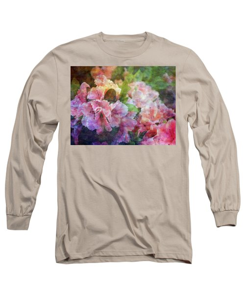 Pink With White Frills 1503 Idp_3 Long Sleeve T-Shirt