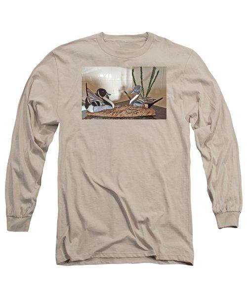 Pintail Ducks Long Sleeve T-Shirt