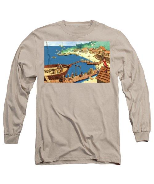 Pirate Port Long Sleeve T-Shirt