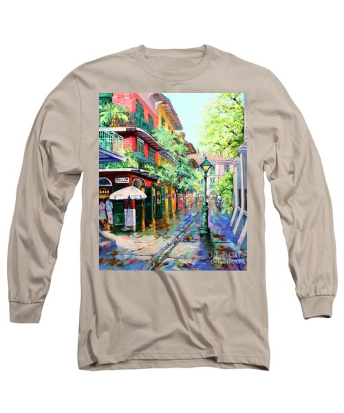 Pirates Alley - French Quarter Alley Long Sleeve T-Shirt