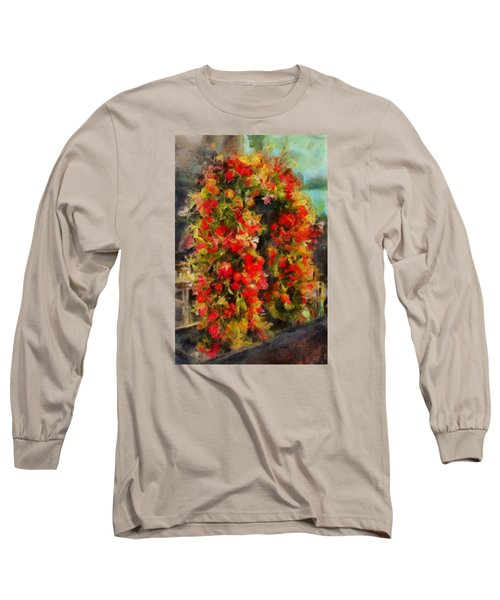 Pi's Flowers 2 Long Sleeve T-Shirt