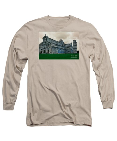 Pisa Long Sleeve T-Shirt by Ramona Matei
