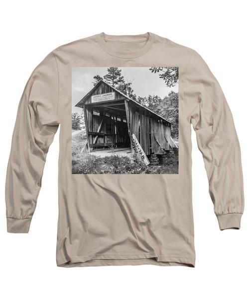 Pisgah Covered Bridge No. 1 Long Sleeve T-Shirt