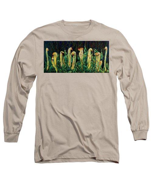 Pitcher Plant Promenade  Long Sleeve T-Shirt