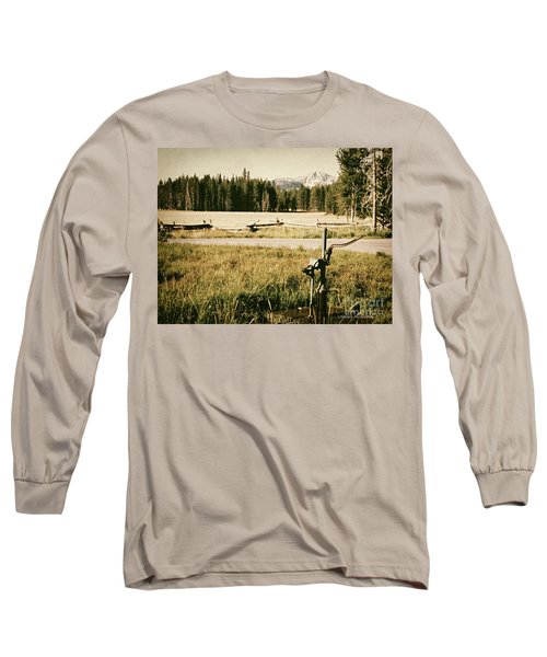 Pitcher Pump Long Sleeve T-Shirt