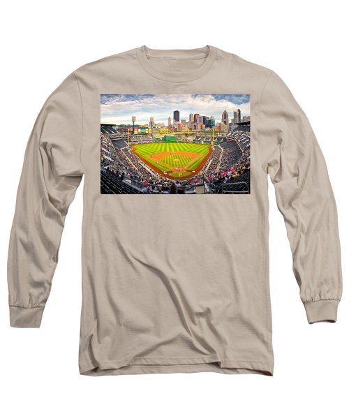 Pittsburgh Pirates  Long Sleeve T-Shirt by Emmanuel Panagiotakis