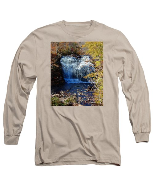 Long Sleeve T-Shirt featuring the photograph Pixley Falls State Park by Diane E Berry