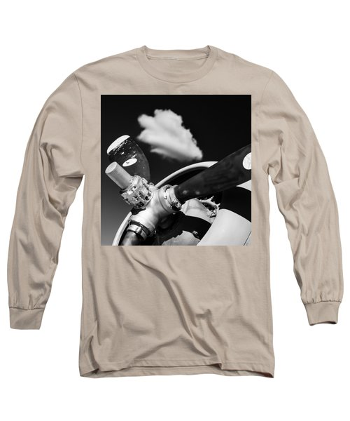Plane Portrait 2 Long Sleeve T-Shirt by Ryan Weddle