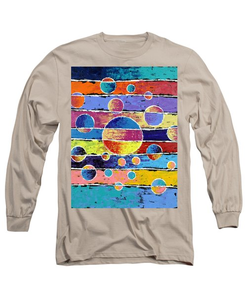 Planet System Long Sleeve T-Shirt by Jeremy Aiyadurai