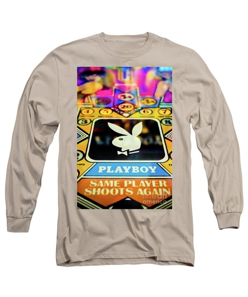 Playboy Pinball Long Sleeve T-Shirt