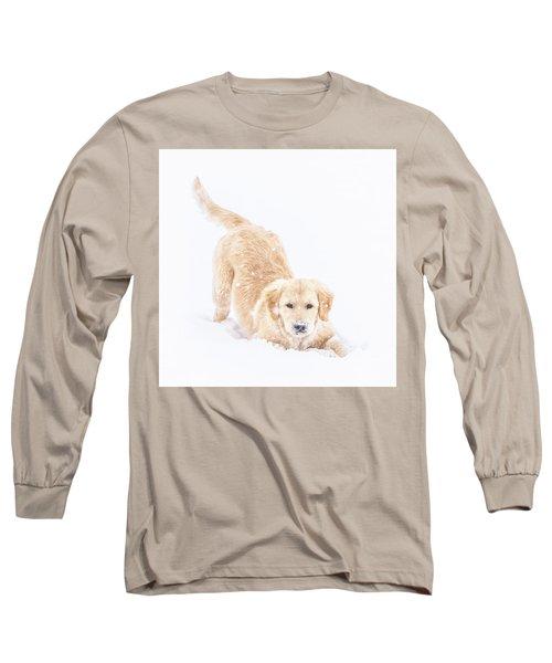 Playful Puppy Long Sleeve T-Shirt