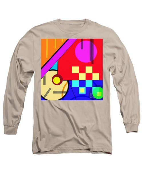 Long Sleeve T-Shirt featuring the digital art Playful by Silvia Ganora