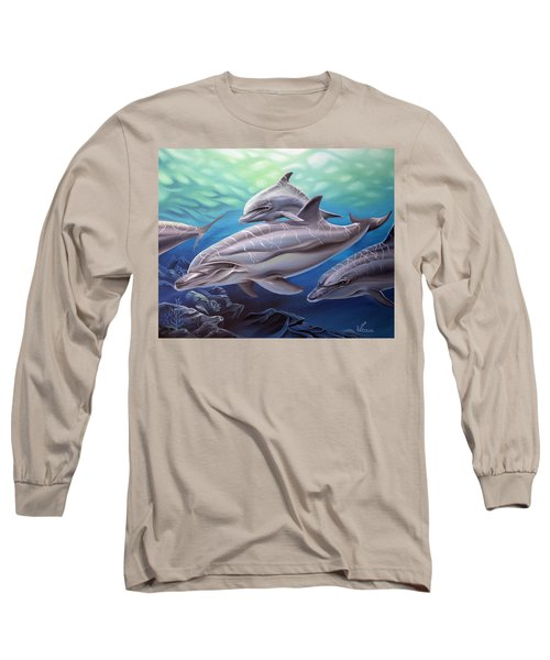Playground Long Sleeve T-Shirt by William Love