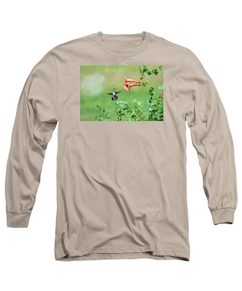 Long Sleeve T-Shirt featuring the photograph Playing Around by Lila Fisher-Wenzel