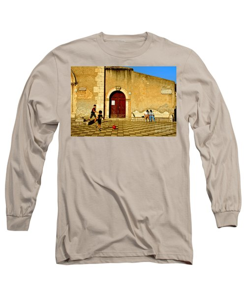 Playing In Taormina Long Sleeve T-Shirt