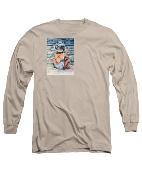 Playing In The Waves Long Sleeve T-Shirt