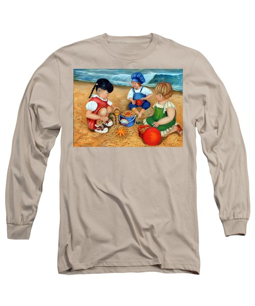 Playtime At The Beach Long Sleeve T-Shirt