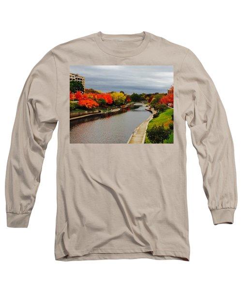 Plaza Colour Pop Long Sleeve T-Shirt