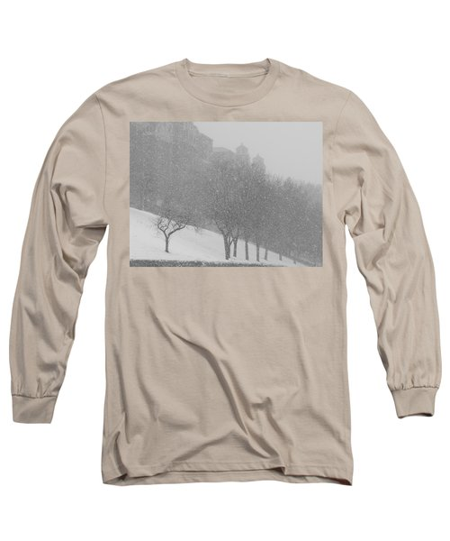 Plaza Impressionism With Kc Snow Long Sleeve T-Shirt