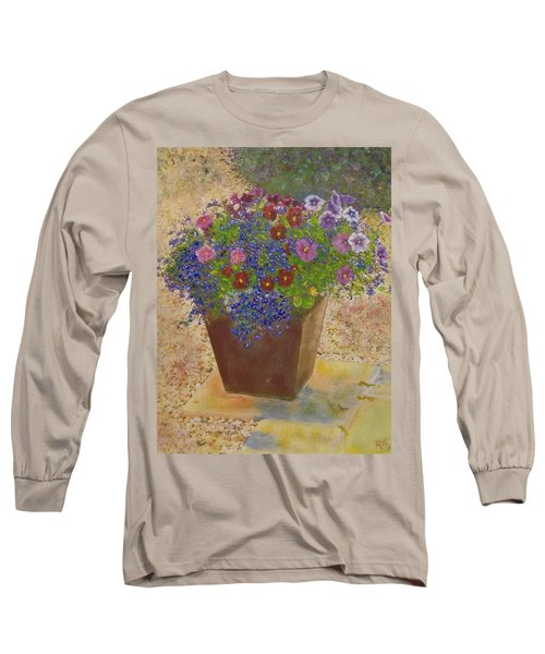 Pleasure Pot Long Sleeve T-Shirt by Richard James Digance
