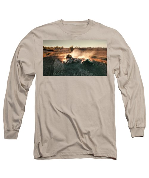 Plow The Fields And Scatter  Long Sleeve T-Shirt