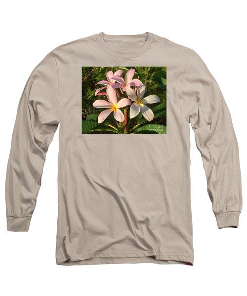 Plumeria Heaven Long Sleeve T-Shirt