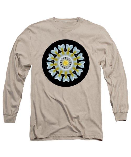 Plumeria Mandala By Kaye Menner Long Sleeve T-Shirt