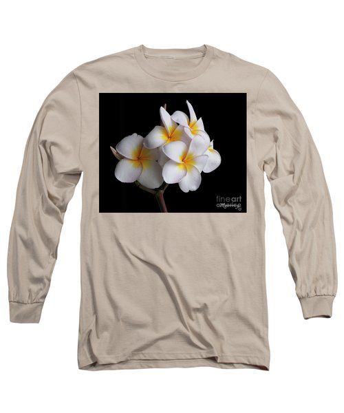 Plumeria Long Sleeve T-Shirt
