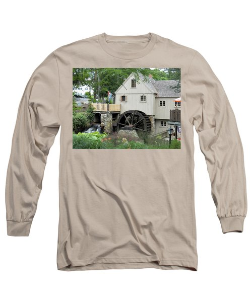 Plymouth Grist Mill Long Sleeve T-Shirt