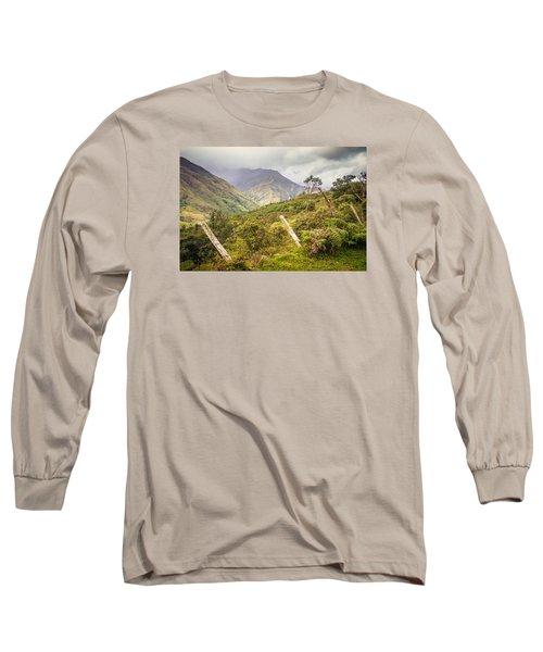 Podocarpus National Park Long Sleeve T-Shirt