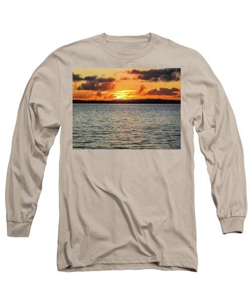 Point Chevalier Beach, Auckland, New Zealand Long Sleeve T-Shirt