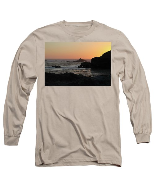 Point Lobos Sunset Long Sleeve T-Shirt
